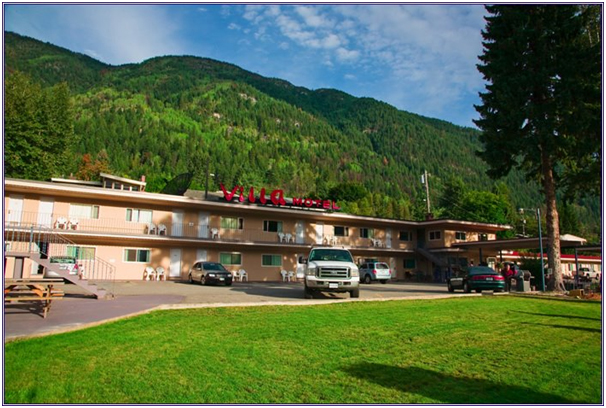 Motel (8 hours from Vancouver)