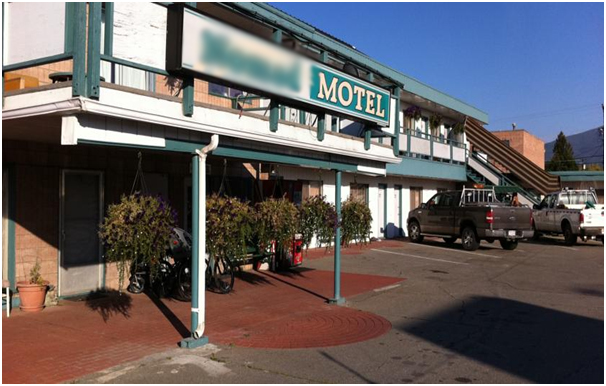 Motel ( 9 hours from Vancouver) – CR