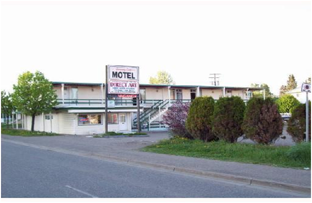 Motel (9 hours from Vancouver) -PG
