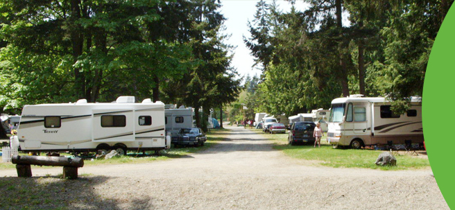 170 Pad RV Park in Vancouver Island