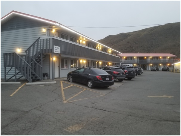 Franchise Motel near Kamloops